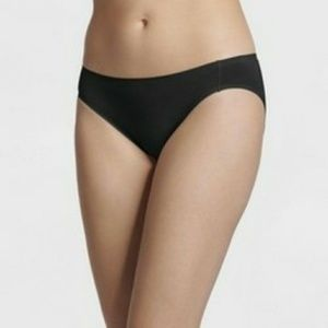 NWT JFY Jockey Bikini Briefs Black  S